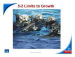5-2 Limits to Growth