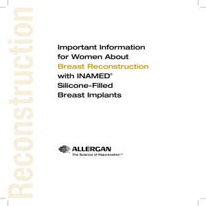 Important Information for Women About Breast Reconstruction with