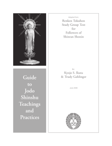 Guide to Jodo Shinshu Teachings and Practices