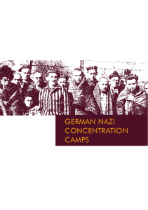 german nazi ConCentration Camps