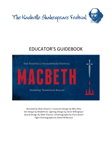 Macbeth - Nashville Shakespeare Festival
