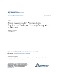Bosom Buddies: Factors Associated with Experiences of Passionate
