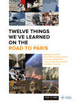 twelve things we´ve learned on the road to paris