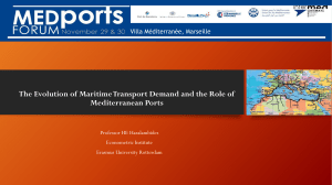 The Evolution of Maritime Transport Demand and - intermed