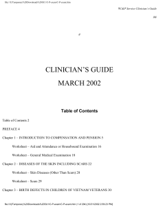 clinician`s guide march 2002
