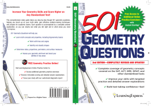 501 Geometry Questions