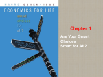 Chapter 1: Are your smart choices smart for all?