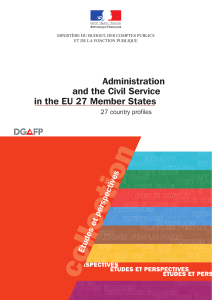 Administration and the Civil Service in the EU 27 Member States