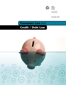 Consumer Law and Credit / Debt Law
