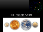 28.2 – The Inner Planets