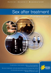 Sex after treatment