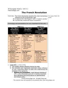 The French Revolution - krayhistory / Kray History