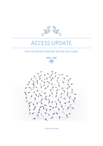 access update - Access to English Social Studies 2014