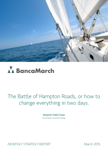 The Battle of Hampton Roads, or how to change