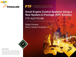 Small Engine Control Systems Using a New System-in-Package