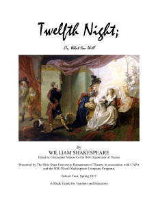 Twelfth Night Study Guide Final