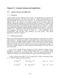 6.013 Electromagnetics and Applications, Chapter 11