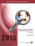 Facts and Figures: Pediatric Palliative and Hospice Care in America