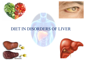 03-Diet in disorders of liver