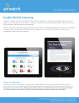 AirWatch Overview - Education - The Academies Show Birmingham