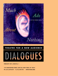 Dialogues - Theatre for a New Audience