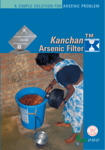 Kanchan Arsenic Filter