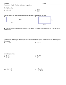 Geometry Name_________________________ Worksheet – Day 1