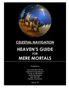 celestial navigation heaven`s guide for mere