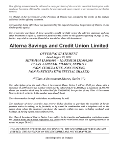 Alterna Savings and Credit Union Limited