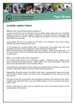 Juvenile Justice Teams - Fact Sheet
