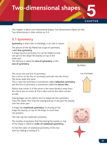 Two-dimensional shapes - Overton Grange Maths KS4
