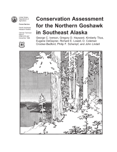 Conservation Assessment for the Northern