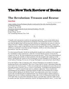 The Revolution: Treason and Rescue