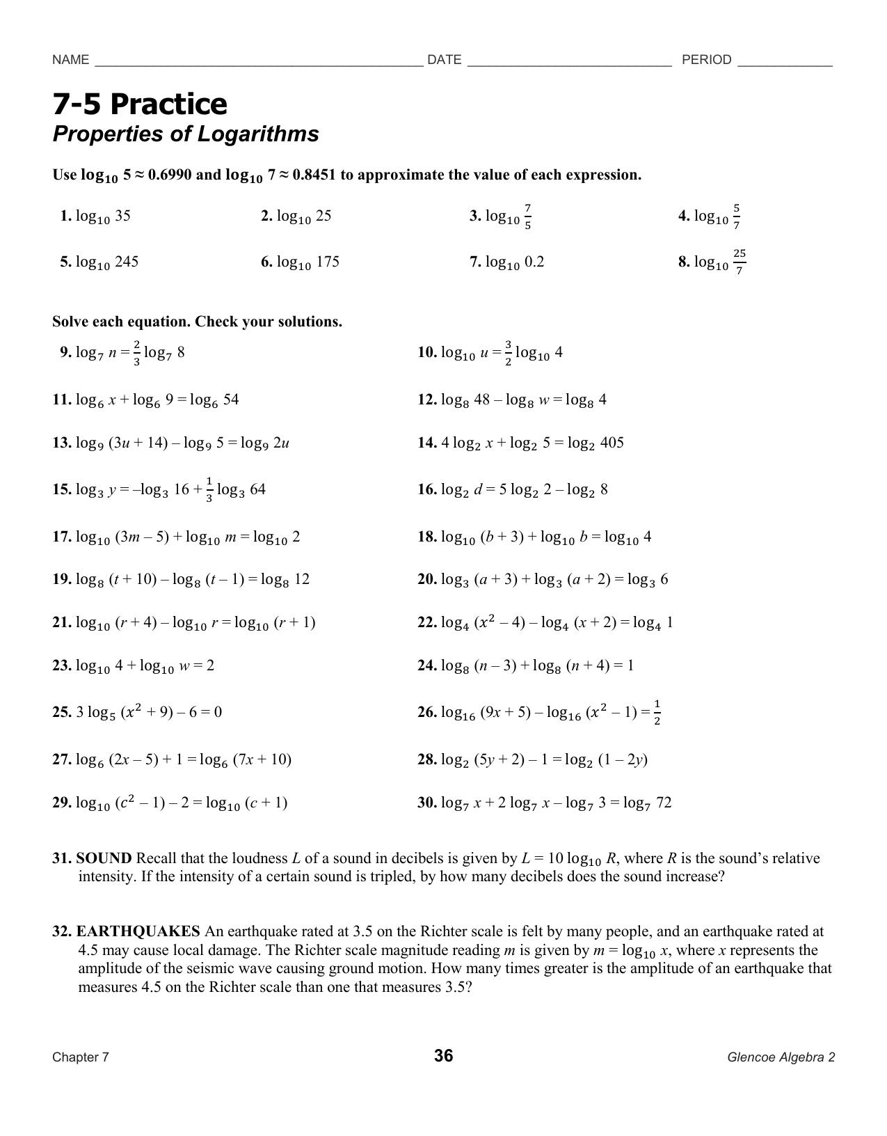 Lesson 7.5 Worksheet - MOC-FV