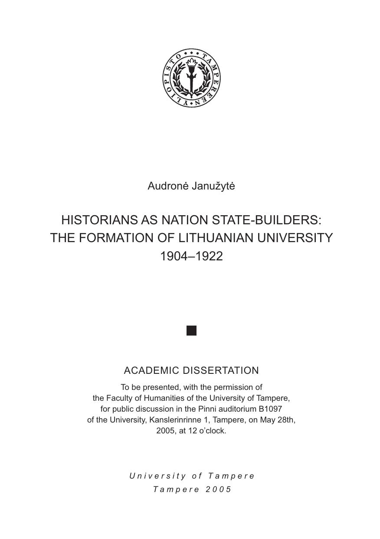 dissertation falk klinge