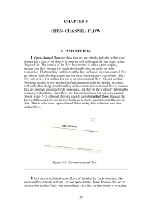 chapter 5 open-channel flow