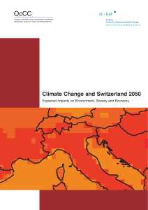 Climate Change and Switzerland 2050