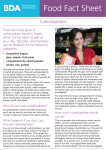 Carbohydrates Food Fact Sheet - British Dietetic Association
