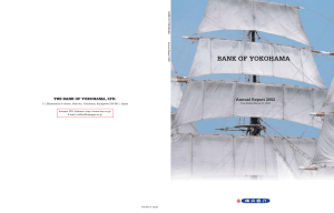 BANK OF YOKOHAMA Annual Report 2002