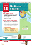 Big Ideas About the Hebrew Kingdoms
