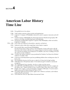 SECTION 4 - Wisconsin Labor History Society
