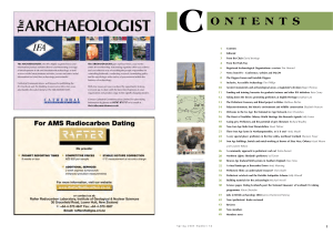 The Archaeologist 56 - Spring 2005 Prehistoric Britain