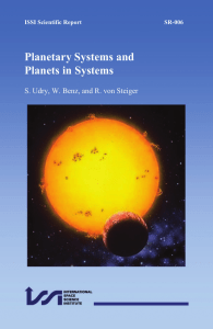 Planetary Systems and Planets in Systems (pdf file 10.5