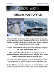 Penguin Post Office Project Synopsis pdf