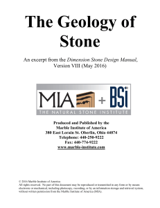 The geology of sTONE