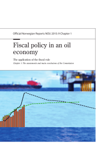 Fiscal policy in an oil economy