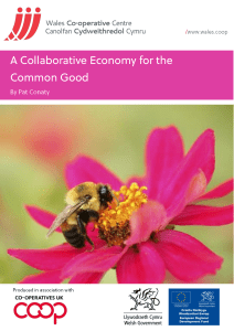 A Collaborative Economy for the Common Good