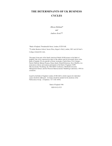 Bank of England working paper no.58