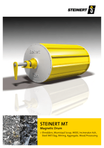 STEINERT Magnetic Drum
