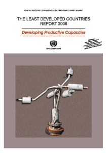 The Least Developed Countries Report 2006